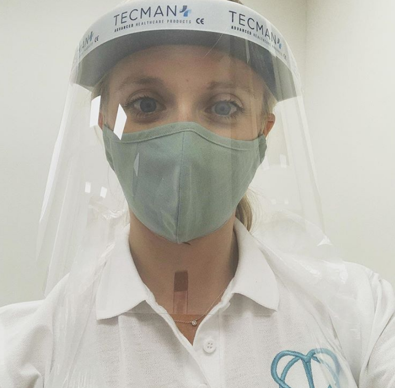 Covid Emily in PPE