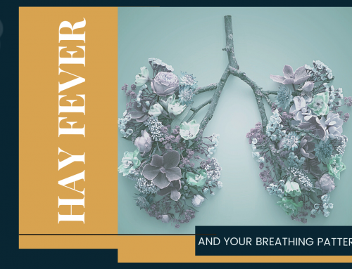 Is your hay fever stuffing up your breathing pattern?