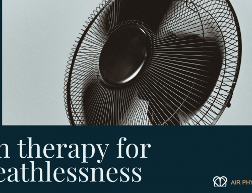 Fan therapy and how it can help your breathlessness.